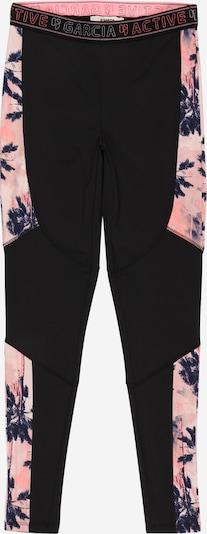 GARCIA Hose in navy / rosa / schwarz, Produktansicht