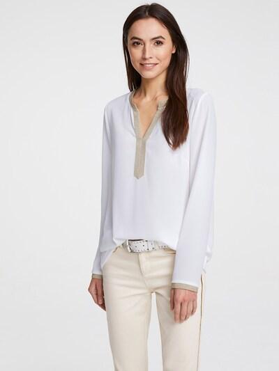 Bluză heine pe auriu / alb, Vizualizare model
