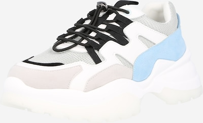 Sneaker low NA-KD pe bej / albastru / alb, Vizualizare produs