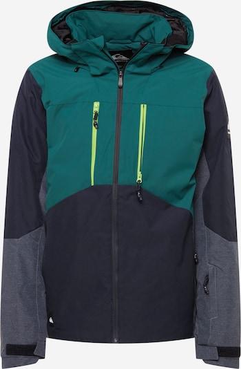 QUIKSILVER Outdoor jacket 'MISSION' in Dusty blue / Dark blue / Green, Item view
