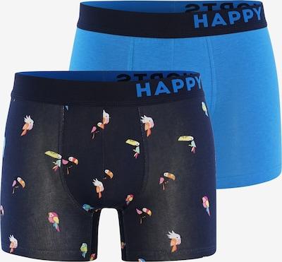 Happy Shorts Boxershorts ' Trunks #2 ' in de kleur Blauw, Productweergave