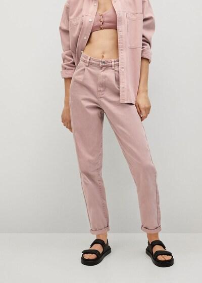 MANGO Jeans in pastellpink, Modelansicht