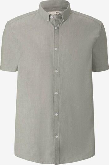 TOM TAILOR DENIM Overhemd in de kleur Greige: Vooraanzicht