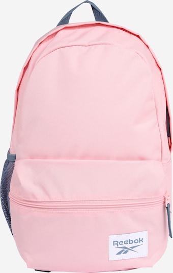 Reebok Sport Rucksack + Mäppchen in rosa / weiß, Produktansicht