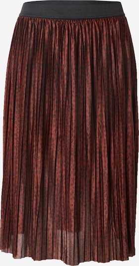 JACQUELINE de YONG Skirt in rusty red / black, Item view