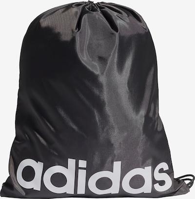 ADIDAS PERFORMANCE Sportturnbeutel in schwarz / weiß, Produktansicht