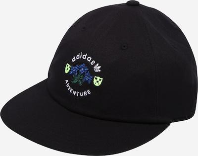 ADIDAS ORIGINALS Pet 'ADVENTURE VINT' in de kleur Blauw / Zwart / Wit, Productweergave