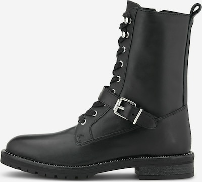 COX Schnürstiefelette in schwarz, Produktansicht