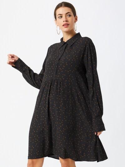 modström Kleid 'Tessi' in braun / schwarz, Modelansicht