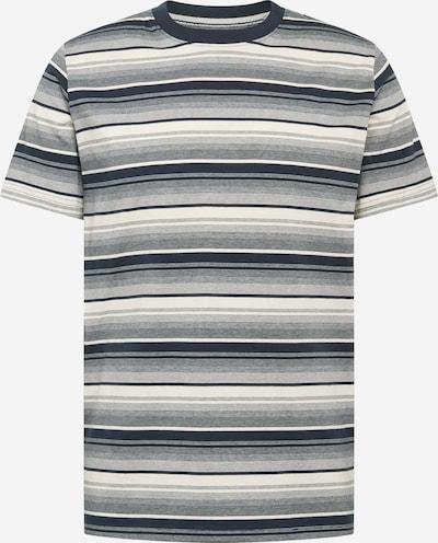 anerkjendt Shirt in de kleur Navy / Donkerblauw / Wit, Productweergave