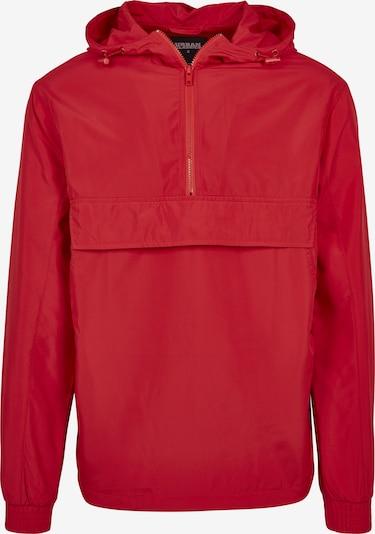 Urban Classics Tussenjas in de kleur Rood, Productweergave