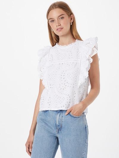 Bluză Rich & Royal pe alb, Vizualizare model