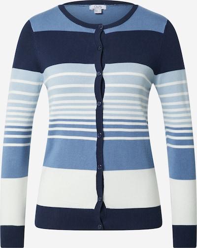OVS Cardigan i blå / lyseblå / mørkeblå / hvid, Produktvisning