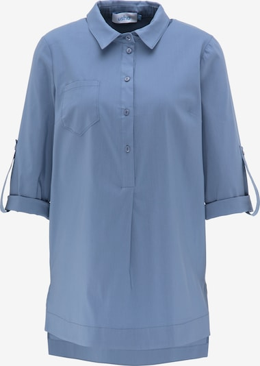 usha BLUE LABEL Bluse in taubenblau, Produktansicht