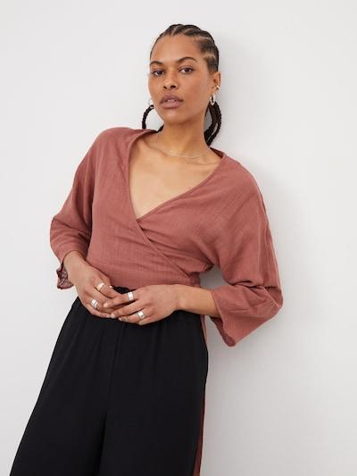 LeGer by Lena Gercke Blus 'Alisha' i rostbrun, På modell