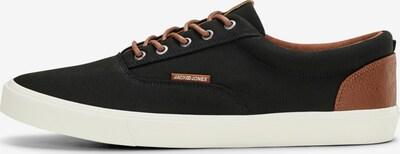 JACK & JONES Sneaker in braun / schwarz / weiß, Produktansicht