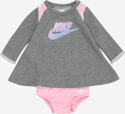 Nike Sportswear Haljina 'TERRY' u siva / roza, Pregled proizvoda