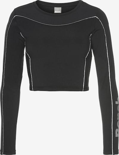 BENCH Langarmshirt in schwarz, Produktansicht