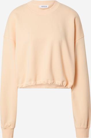 Sweat-shirt 'Pearl' EDITED en orange