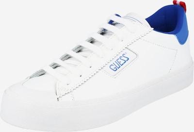GUESS Trampki niskie 'MIMA' w kolorze niebieski / białym, Podgląd produktu
