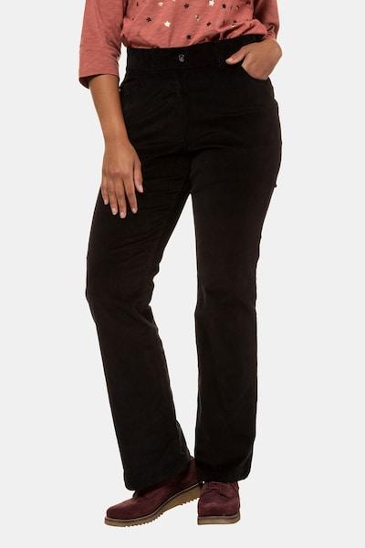 Ulla Popken Hose in schwarz, Modelansicht