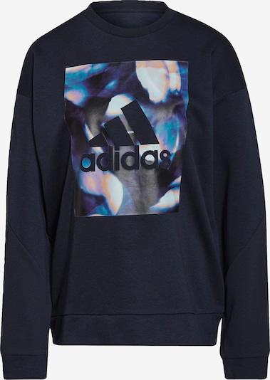 ADIDAS PERFORMANCE Sportsweatshirt in royalblau / pfirsich / schwarz / weiß, Produktansicht