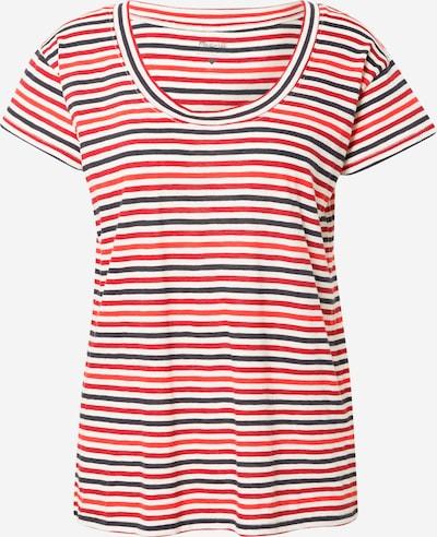 Madewell Camiseta 'Zinnia' en azul / rojo / blanco, Vista del producto