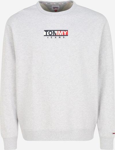 Tommy Jeans Plus Sweatshirt in hellgrau, Produktansicht