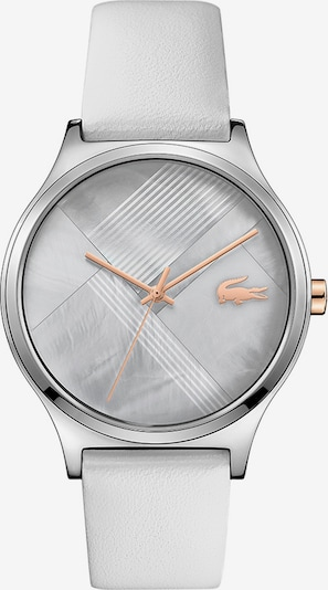 LACOSTE Uhr in grau / rosé / weiß, Produktansicht