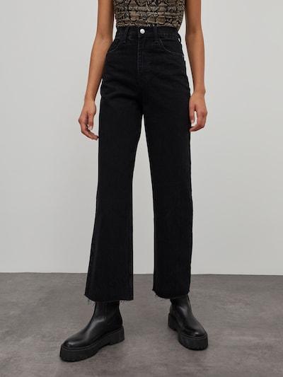 Jeans 'Esra' EDITED pe negru denim, Vizualizare model
