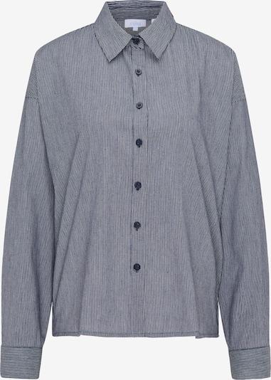 usha BLUE LABEL Bluse in dunkelblau / weiß, Produktansicht