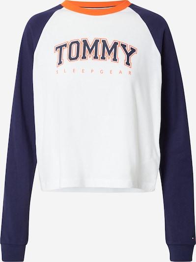 Tommy Hilfiger Underwear Pajama Shirt in Navy / Light orange / White, Item view