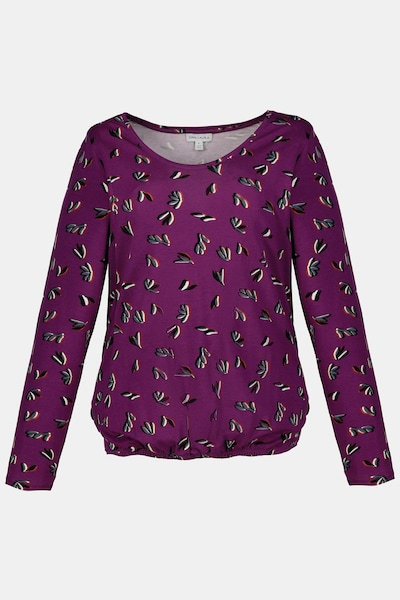 Gina Laura Shirt in lila, Produktansicht