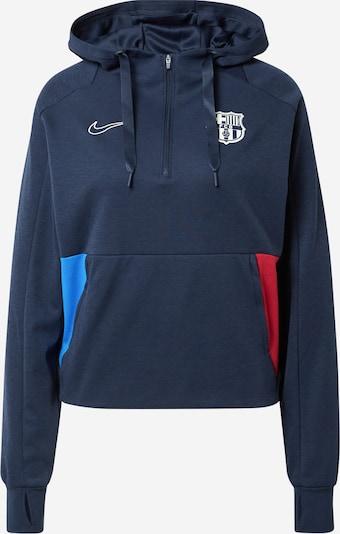 NIKE Sportovní mikina 'FC Barcelona' - námořnická modř / nebeská modř / červená / bílá, Produkt