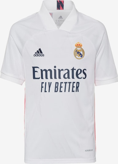 ADIDAS PERFORMANCE Trikot 'Real Madrid' in navy / koralle / weiß, Produktansicht