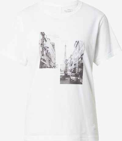 Abercrombie & Fitch Tričko - sivá / čierna / biela, Produkt