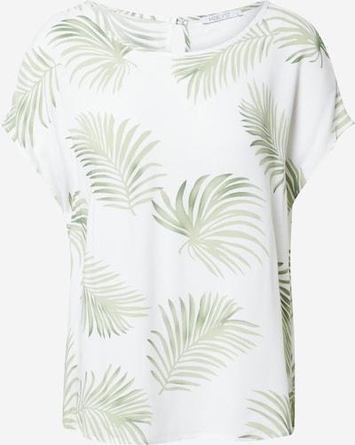 Hailys Блуза 'Farina' в зелено / естествено бяло: Изглед отпред