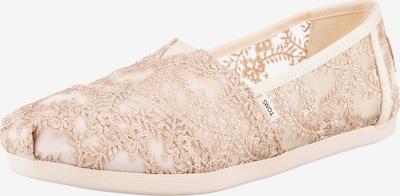 TOMS Ballerina 'Alpargata' in puder, Produktansicht