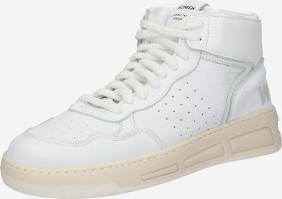 Sneaker înalt WOMSH pe alb, Vizualizare produs