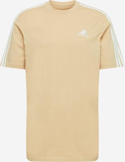 ADIDAS PERFORMANCE Koszulka funkcyjna 'Essentials' w kolorze beżowy / białym, Podgląd produktu
