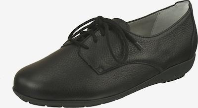 Natural Feet Veterschoen in de kleur Zwart, Productweergave