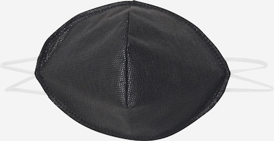 Oderso Masque en tissu '10er Pack' en noir, Vue avec produit