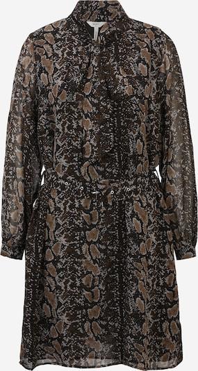 OBJECT Petite Kleid 'ANNA' in beige / grau / schwarz, Produktansicht