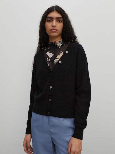 EDITED Adīta jaka 'Lea', krāsa - melns, Modeļa skats