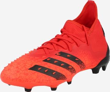 ADIDAS PERFORMANCE Soccer Cleats 'Predator Freak .2' in Red