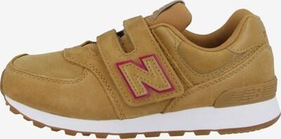 new balance Sneakers 'YV 574' in de kleur Taupe / Donkerroze, Productweergave