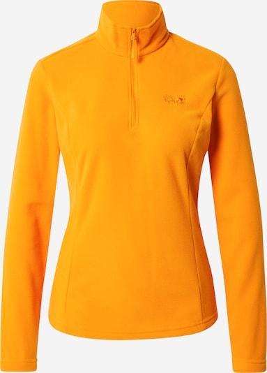 JACK WOLFSKIN Pullover 'GECKO' in hellorange, Produktansicht