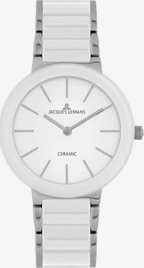 Jacques Lemans Uhr in weiß, Produktansicht