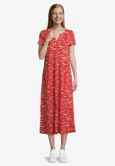 Vera Mont Sommerkleid mit Muster in rot / weiß, Modelansicht