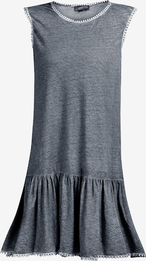 DreiMaster Vintage Kleid in taubenblau, Produktansicht